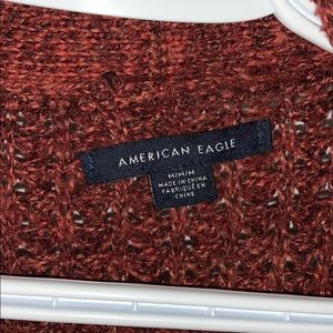 American Eagle Outfitters Sweaters - American Eagle maroon cardigan!!